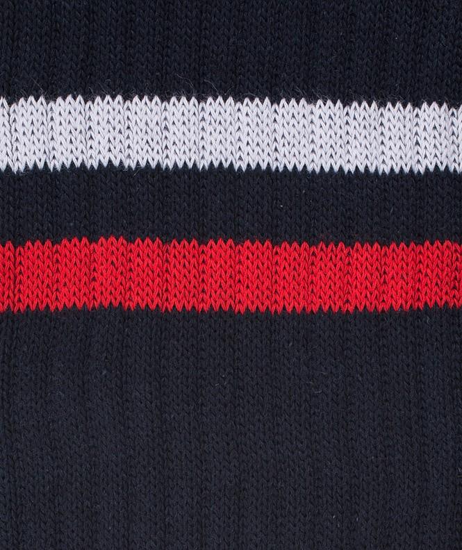Chaussettes Tennis Coton Bleu