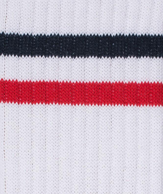 Chaussettes Tennis Coton Blanc
