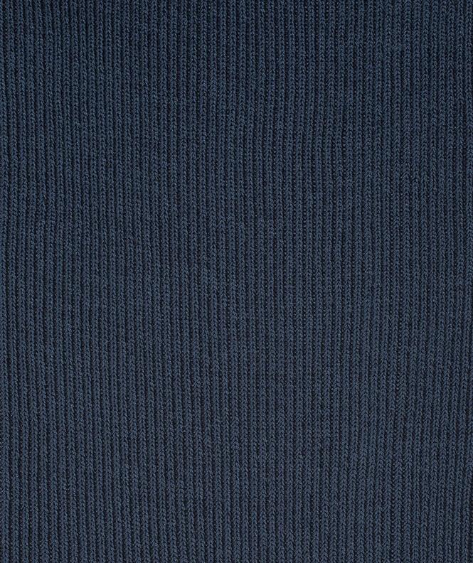 Chaussettes Non comprimantes Fil d'écosse Bleu