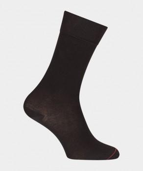 Chaussettes Jersey Coton Noir