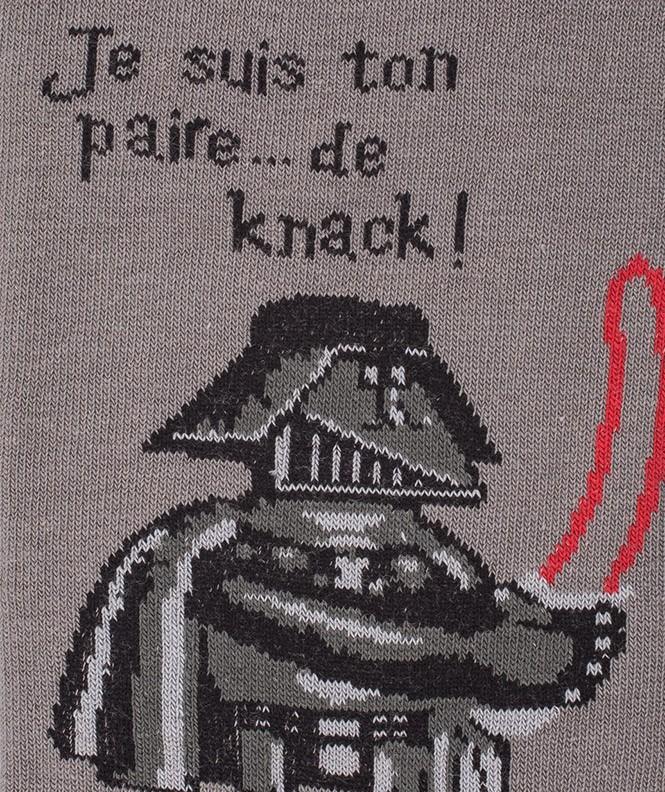 Chaussettes Knack Vador Coton Gris
