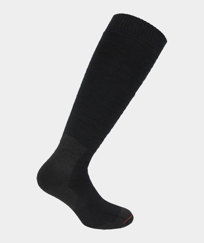 Mi-bas Spécial chaussures de sécurité bouclette Coton Noir