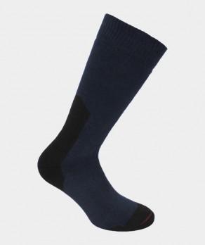 Chaussettes Spécial chaussures de sécurité bouclette Coton Bleu