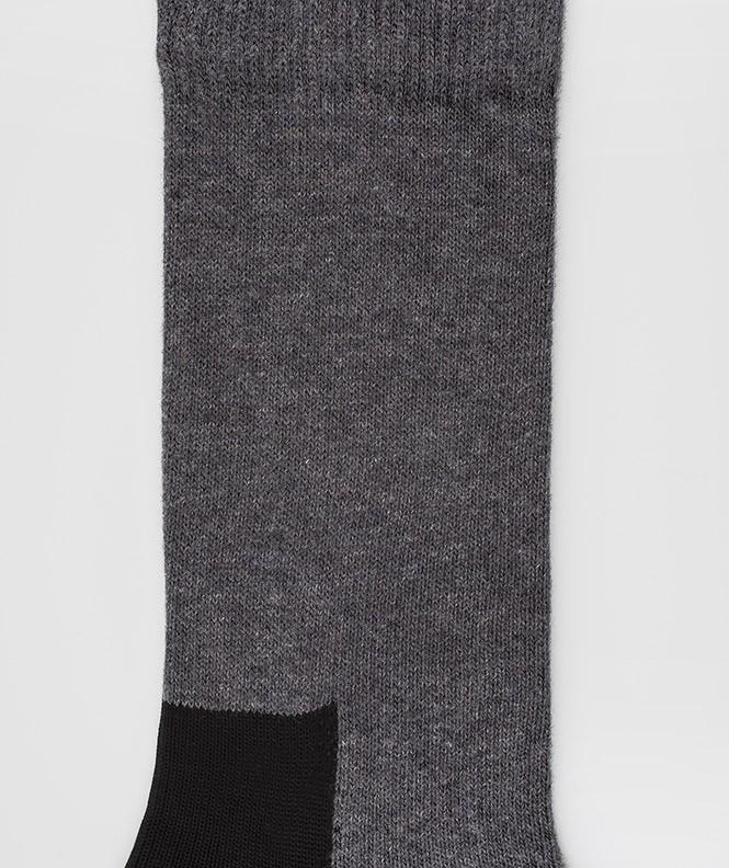 Chaussettes Spécial chaussures de sécurité jersey Coton Gris
