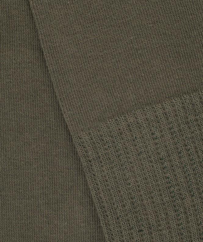 Mi-bas Anti-tiques Coton Vert