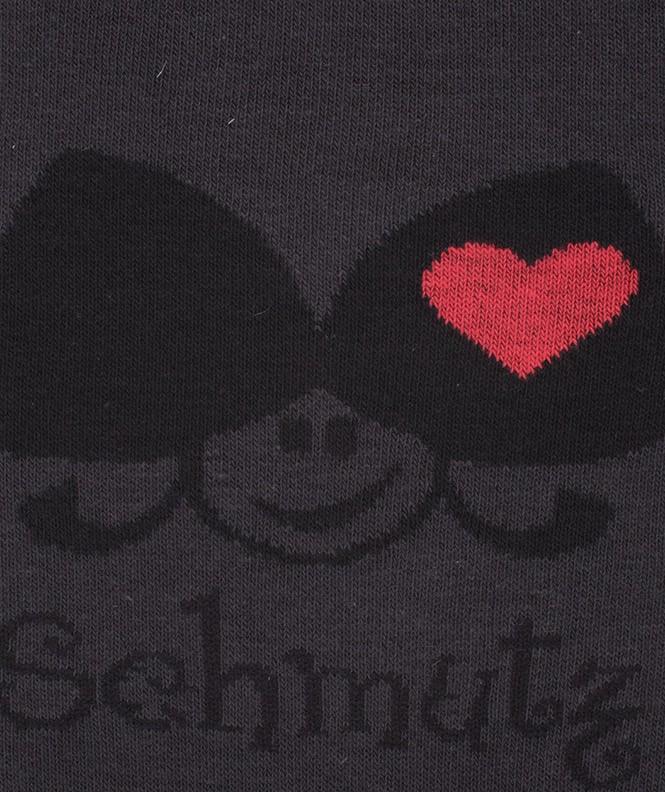 Chaussettes Schmutz Coton Gris