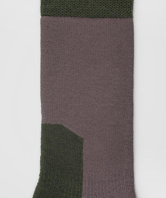Chaussettes Randonnée épaisses Polyester Gris