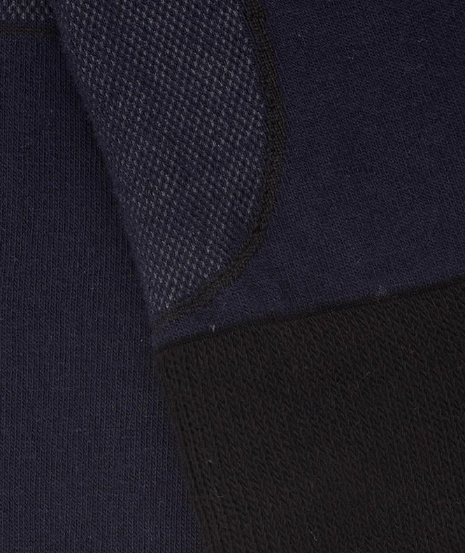 Mi-bas Randonnée anti-tiques Polyester Bleu