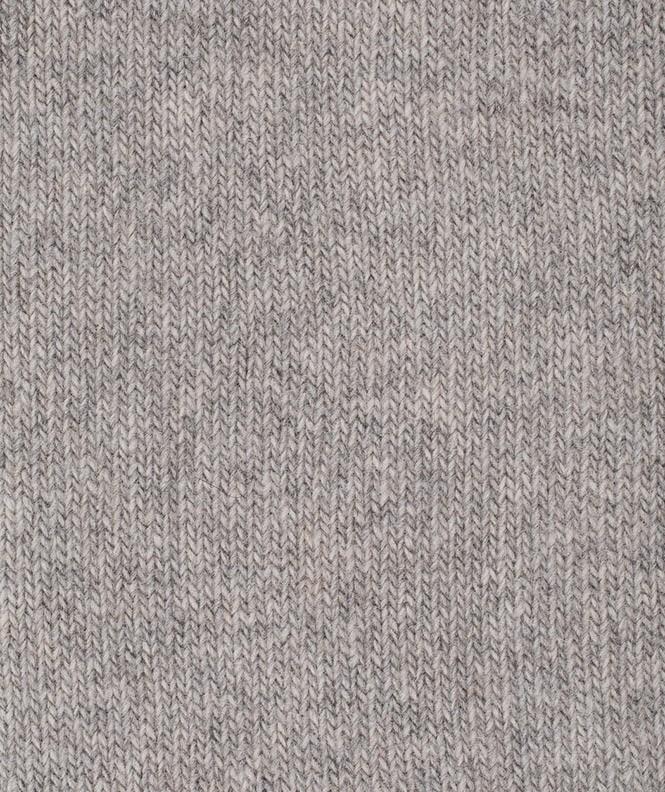 Chaussettes Jersey Cachemire Gris