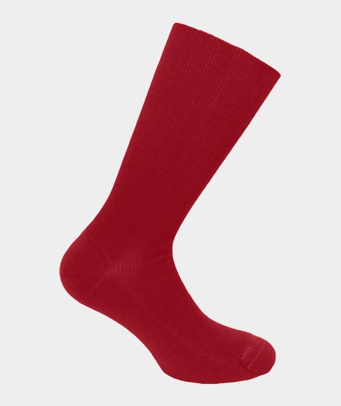 Chaussettes Non comprimantes Laine Rouge