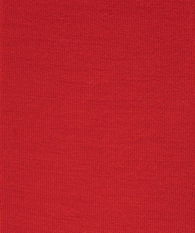 Chaussettes Jersey intérieur coton, extérieur Laine Rouge