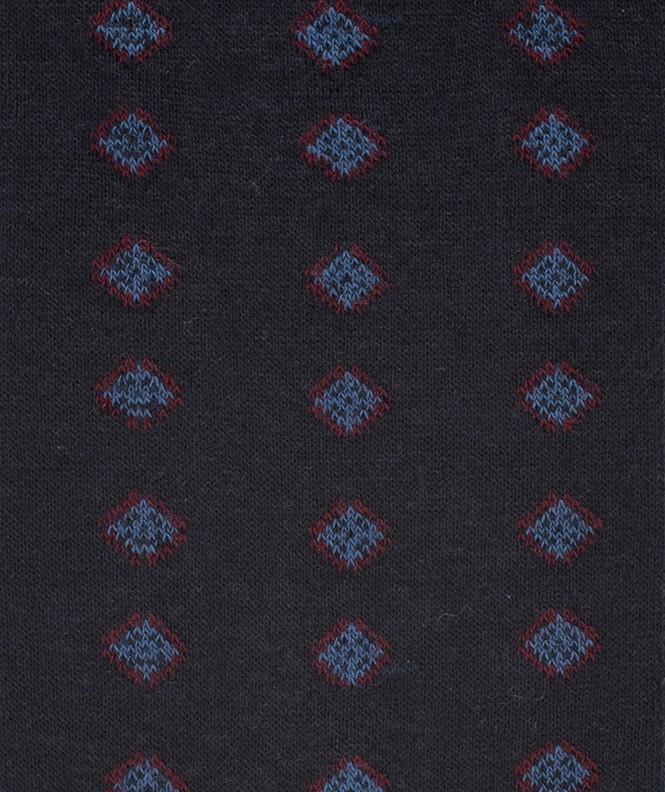 Chaussettes Semis loanges Laine Bleu