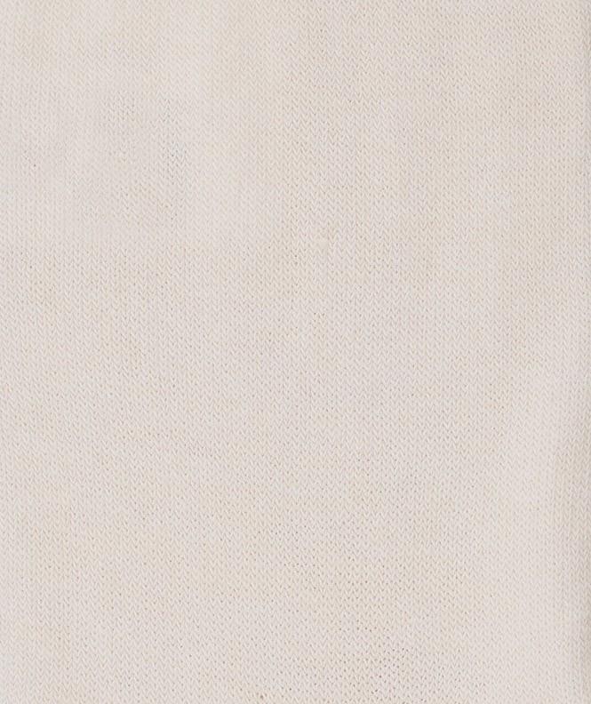 Chaussettes Jersey Coton Beige