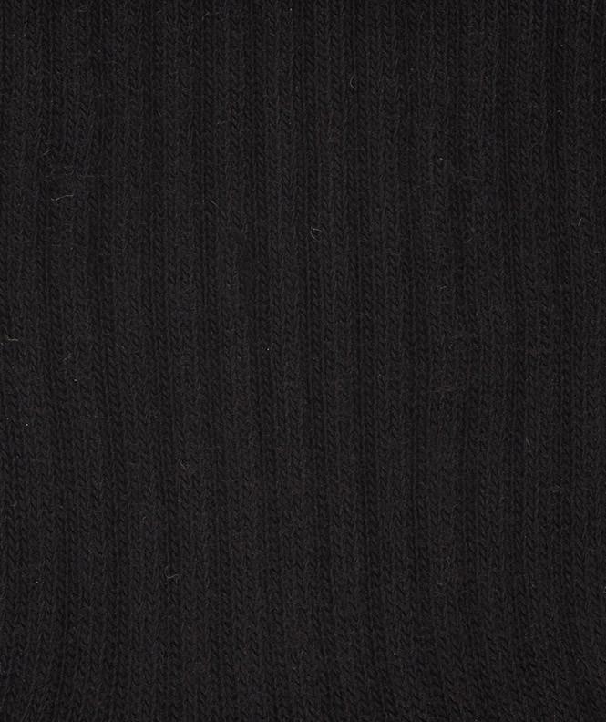Chaussettes Sport bouclette Coton Noir