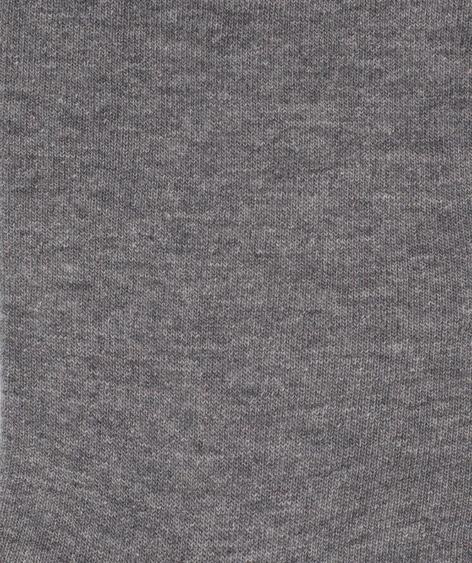 Chaussettes Jersey cachermire et Coton Gris