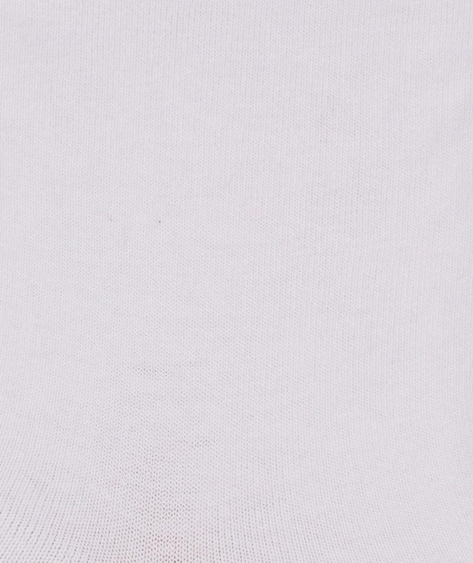 Socquettes Jersey Coton Blanc