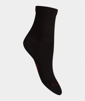 Socquettes Jersey Coton Noir
