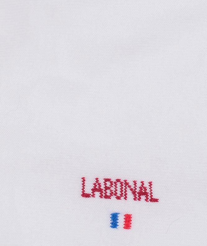 Mini-socquettes Jersey Coton Blanc