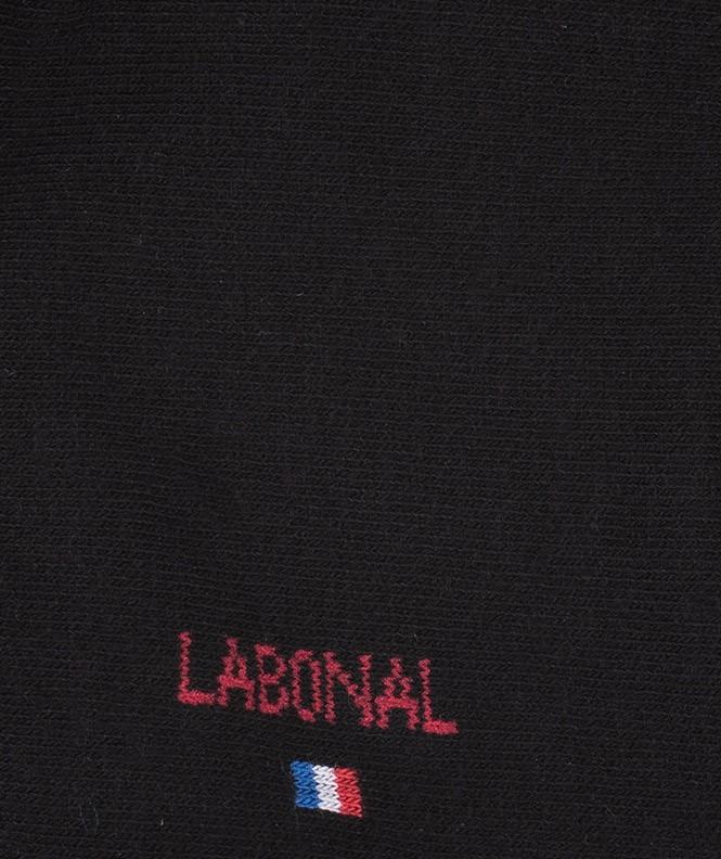 Mini-socquettes Jersey Coton Noir