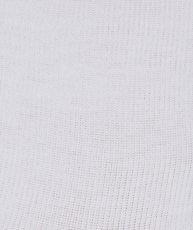 Socquettes Running bouclette Polyester Blanc