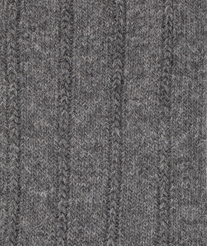 Chaussettes Antidérapantes Angora Gris