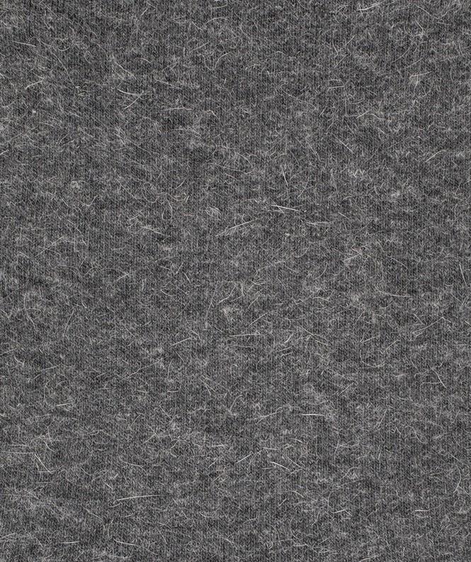 Chaussettes Jersey Angora Gris