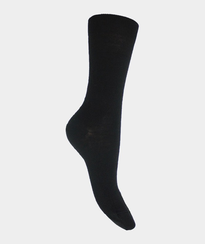 Chaussettes Massantes Laine Noir