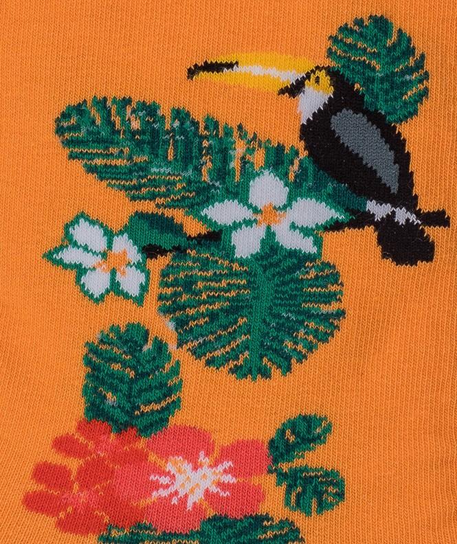 Chaussettes Toucan Coton Orange