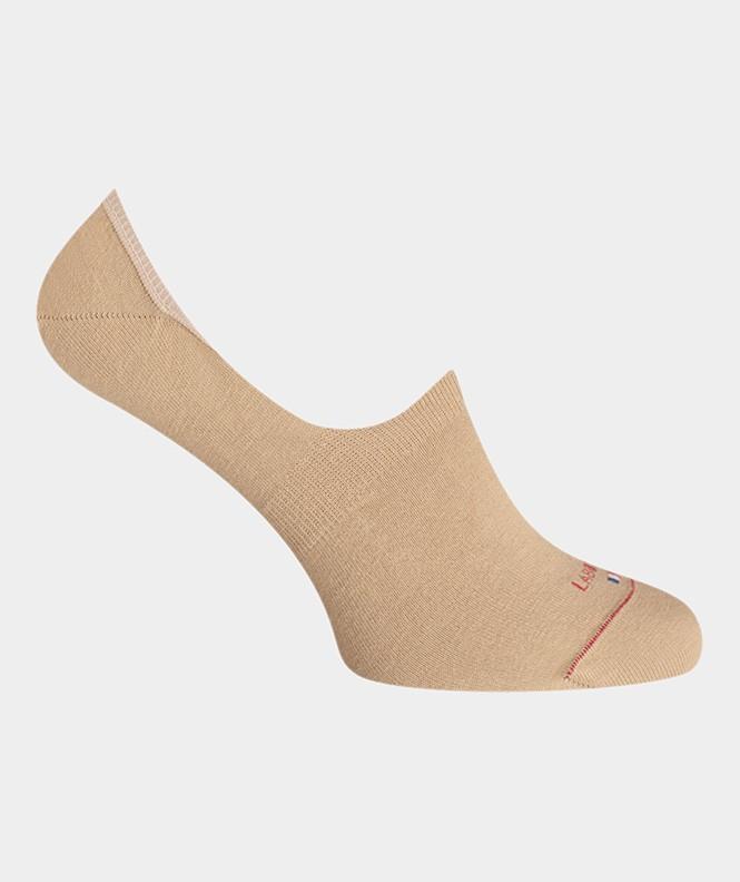 Mini-socquettes Unies Polyester Beige