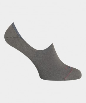 Mini-socquettes Unies Polyester Gris