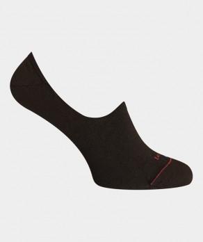 Mini-socquettes Unies Polyester Noir