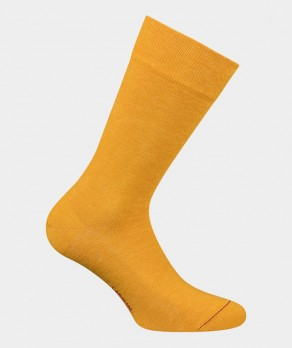 Chaussettes Unies jersey Lin Jaune