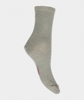 Chaussettes Unies jersey Lin Beige