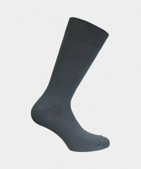 Chaussettes Unies jersey Bambou Anthracite