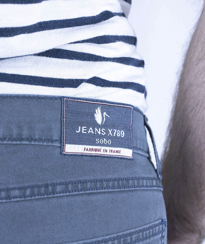 JEANS X789 HOMME COUPE AJUSTÉE