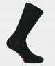 Chaussettes unies Jersey Viscose Noir